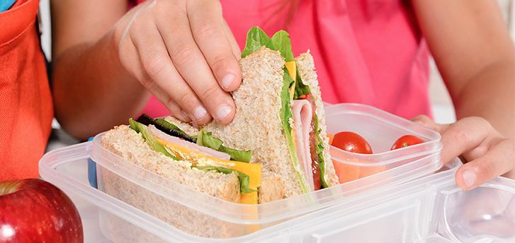 Alimentacion saludable en el colegio