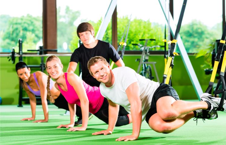 TRX una modalidad deportiva con resultados efectivos